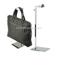 Wholesale handbag display stand handbag hanger stand Mtal Handbag Stand bag holder stand bags display cabinet