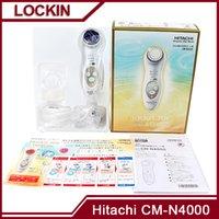 Wholesale NEW Hitachi CM N4000 Cleansing Moisturizing Facial Massager cleanser PK CM N2000 CN3000 VS Mia8 mia2 facial brush PMD Tripollar Stop nuface