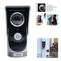 bells door locks - WIFI Doorbell Video Intercom Door Phone Wireless Digital Smart Peephole Viewer Camera Megapixel Night Vision Door Bell