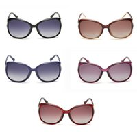 Wholesale 2016 Women s new fashion classic big box polarized sunglasses Travel Living essential goods five colors to choose