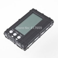 battery drop tester - 1 PC New in Battery Balancer RC s s Lipo Li Fe LCD Voltage Meter Tester Discharger Drop Shipping