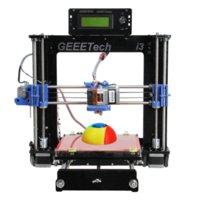 Wholesale Support Six Materials Reprap Prusa i3 D Printer Machine MM Acrylic Frame High Precision Impressora DIY Kit LCD Free