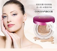 Wholesale Star product Authentic corzen cushion frost cc cream cover water coagulation whitening and moisturizing foundation before carry bright