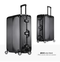Wholesale German PC suitcase luggage trolley bag women amp men s travel bags suitcases rolling luggage