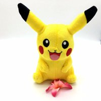 Wholesale Cute Pikachu Plush Toys cm High Quality Plush Toys Children s Gift Toy Kids Cartoon Peluche Pikachu Plush Dolls for Baby