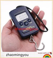 Wholesale HONG Set Newest Pocket Electronic Digital Scale kg kg Hanging Luggage Weight Balance Steelyard Black