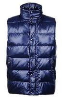 Wholesale 2016 Monclearlis men s outdoors casual winter goose hooded Down Vest Parkas Vest XS XXL monclearing