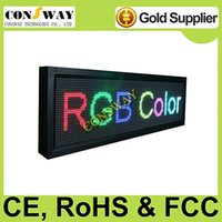 Wholesale and CE RoHS approved led light advertising board with RGB full color and size cm W cm H cm D