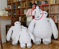 big kid mascots - High quality Custom made cm cm cm cm Big Hero super big Mascot Baymax stuffed Plush toy doll model kids baby birthday gift