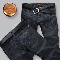 Wholesale men s jeans brand New Fashion men jeans pants Spring Winter men s jeans trousers Slim Straight jeans denim trousers