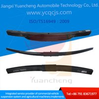 Wholesale Trailer Semi trailer Front Suspension Vehicle Toyota Hiace Parts Tapered Leaf Spring for Heavy Truck