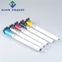 Wholesale Soul Travel Aluminum Bike Seat Posts Suspension Cycling Bicycle Rack Seat Post Clamp Seat Tube Bicycle Parts Bicicleta