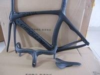 Wholesale CIPOLLINI RB1000 black on black bob road racing frames carbon fiber bike bicycle frame CIPOLLINI handlebar saddlle