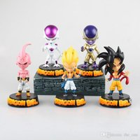 best freezers - dragon ball action figures Display freezer Majin Buu son GOKU Gotenks toys PVC Collective Dolls With Box Best Present designs Free express