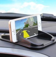 apple bins - Vehicle mounted multifunctional bin silicone mat apple iPhone special mobile phone pad