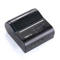 Wholesale 80mm Mini Portable Bluetooth Wireless Receipt Thermal Printer Compatible for IOS Android System MObile