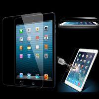 Wholesale iPad Mini4 iPad iPad Air iPad Pro tempered glass H D arc impact absorb screen protector film