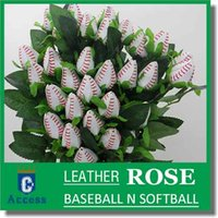 baseball collectibles - Long Stem Baseball Rose Gifts COLLECTIBLES