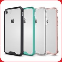 accessories case - Iphone Case Transparent Clear Hybrid Bumper Shockproof Phone Case Phone Accessories For Iphone plus