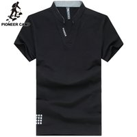 active polos - Pioneer Camp summer men polo shirts business casual fitness gym active polo shirt men clothing brand shirt