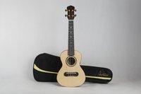 Wholesale C6 AJ veneer ukulele Engelmann spruce Hawaii folk singing