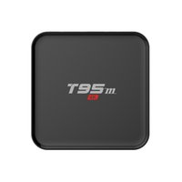 Wholesale Drop shipping T95M TV Box Amlogic S905 Quad Core Bit Android Smart K HD Media Player GB GB Built in G WiFi Bluetooth