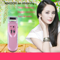 galvanic machine - Microcurrent Galvanic Spa face firming device Anti Aging Home Beauty Instrument Ion face massager face cleansing machine