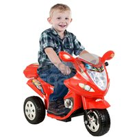 Wholesale 3 Wheel Power Bicyle Red Kids Ride On V Toy Battery Motorcycle Powered Electric