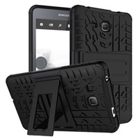 Wholesale Hybrid Rugged Dazzle Kickstand Shockproof Back Case Samsung Galaxy TAB A T280 T230 T710 T810 iPad Pro Air