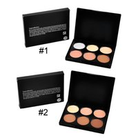 best face brush - Face Power Contour Kit Makeup Face power loose powder CONTOUR KIT Bronzers Highlighters Colors Best Quality with makeup brush