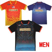 Wholesale New Malaysia Badminton Lee Jersey Lin tshirt Badminton Men Shirt Badminton sportswear badminton clothes