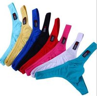 Wholesale 1PCS Cocksox men s underwear Mens Sexy Underwear Briefs Cocksox G String Male Panties U Convex Men Thongs color