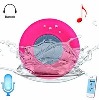 big car speakers - Big discountPortable Waterproof Wireless Bluetooth Speaker Shower Car Handsfree Receive Call mini Suction IPX4speakers player Mic Promotion