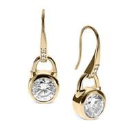 Cheap Dangle & Chandelier Crystal earrings Best White Celtic Dangle earrings