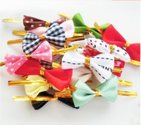 Wholesale 100PCS DIY Baking bread bag sealing bowknot cookie packing bags wire lollipop cake pops packing tie