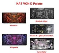 Wholesale Eyeshadow Palette New KAT VON D Eyeshadow SHADE LIGHT CONTOUR PALETTE Colors Bronzers Highlighters Chrysalis Palette Brand