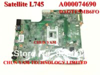 Wholesale New Original A000074690 motherboard for Toshiba Satellite L745 L740 laptop Notebook PC mainboard DAOTE5MB6FO Tested