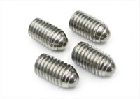 ball plungers - 304 stainless steel ball positioning bead wave locking spring steel ball screw Bo ball plunger M3 M4 M8