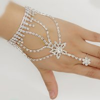 american indian models - Explosion models fashion personality five pointed star diamond bracelet diamond bracelet bride bracelet connected ring