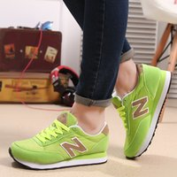 balance mix - New Style Balance women sneakers breathable air mesh running shoes colorful mixed Women flats shoes