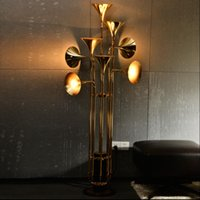 Wholesale IndividualThe Nordic industrial post modern art creative personality exhibition designer sitting room floor lamp hotel cafe bar