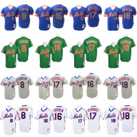 mitchell and ness - Throwback Gary Carter Dwight Gooden Darryl Strawberry Keith Hernandez Jersey Men s Mitchell And Ness New York Mets Stitched