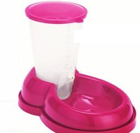Wholesale Pet Feeder Cat Small Dog Bowl Feeder Random Color