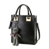beer tote - Famous Designer Luxury Brand Ladies Hand Bags Leather Black Big Bag Tote Iron sheets Beer Purse Handbags Women Shoulder Pochette