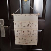 Wholesale 8 Pockets Water proof Folding Storage Bag Wall Hanging Bag Door Hanging Sundries Organizer