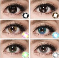 beauty contact lens - Colorful Cosmetic contact lenses for eyes Beauty Girls series yealy use DIA mm Coloured contacts eye color Freeshipping