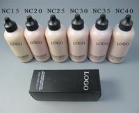 Wholesale ML Professional Makeup Liquid Foundation With Pump Base Studio Fix Spf Fluid Foundation Nc15 Base Maquiagem