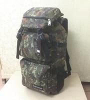 Wholesale Supreme Camo backpack lovers travel bag mens hiking bag women s backpack Korean street bag