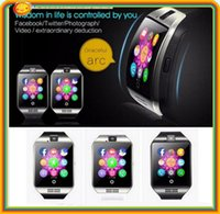 Wholesale 15pcs inch Q18 Smart Watch D TFT HD Arc Screen Clock With Sim Slot NFC Bluetooth V4