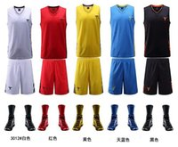 basketball jersey uniform - All Star sided basketball clothes suit new men Bryant basketball jerseys Breathable basketball uniforms Basketball wears can be customized